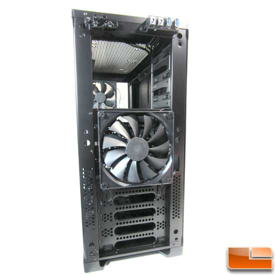 Corsair Carbide 300R front panel off