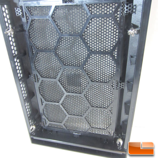 Corsair Carbide 300R filter on the front panel