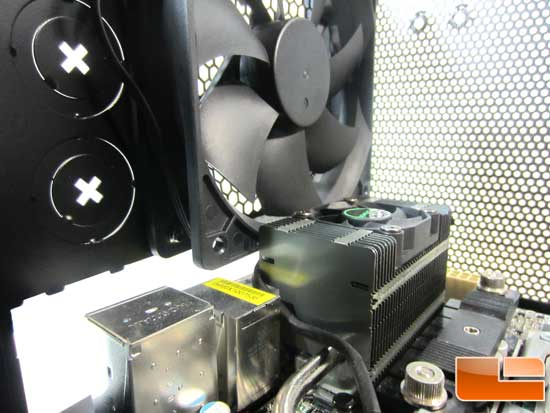 Corsair Carbide 300R clearing rear fan