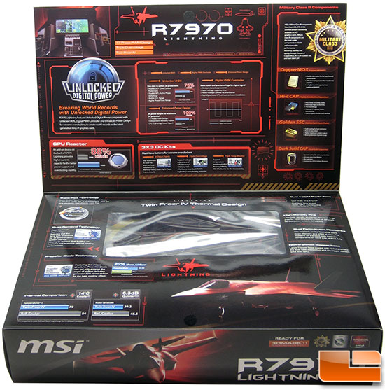 MSI R7970 Lighting Video Card Retail Box