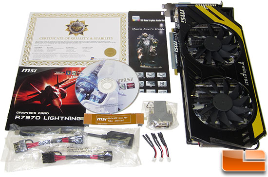 MSI R7970 Lighting Video Card Retail Bundle
