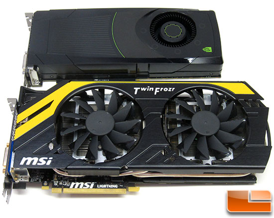 NVIDIA GeForce GTX 680 and MSI R7970 Lightning