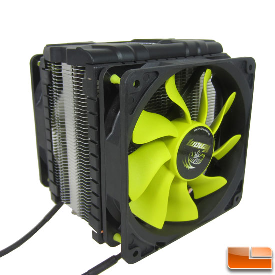 Akasa Venom Voodoo Heatpipe Direct Touch Cooler Review