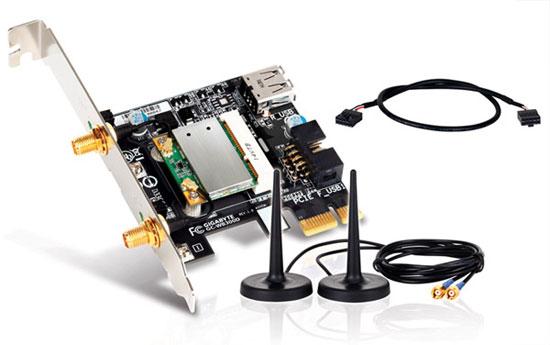 GIGABYTE Z77X-UD5H Bluetooth 4.0 + WiFi Module
