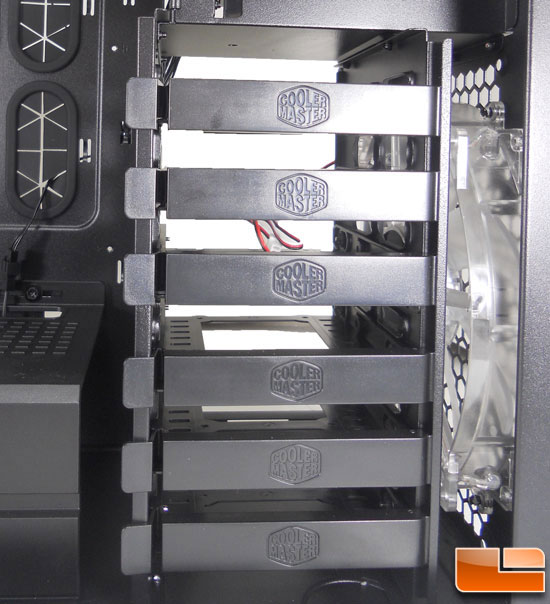 Hard Drive Cage With 6 Caddies
