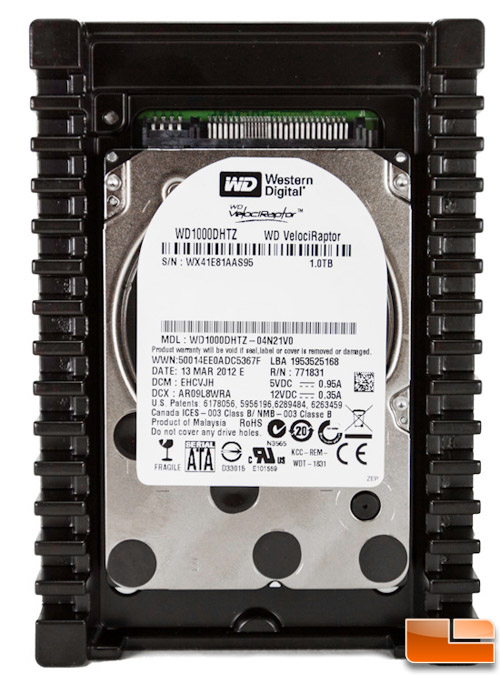 Western Digital VelociRaptor 1TB Hard Drive Review