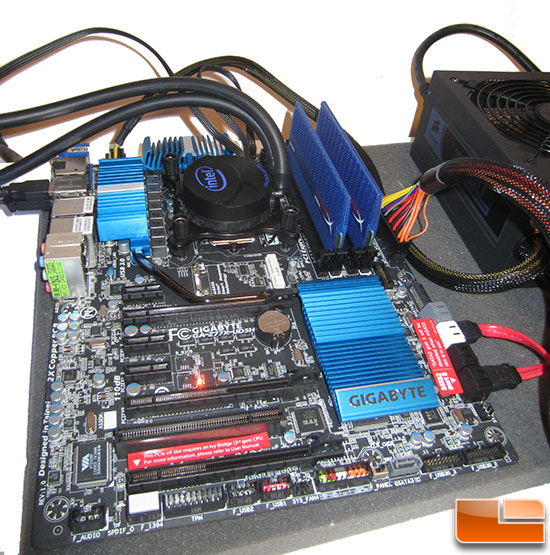 Intel LGA1155 Test System