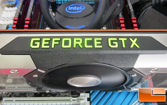 NVIDIA GeForce GTX 690 Video Card LED Logo