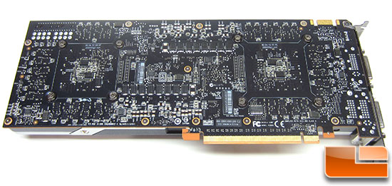 NVIDIA GeForce GTX 690 Video Card Back