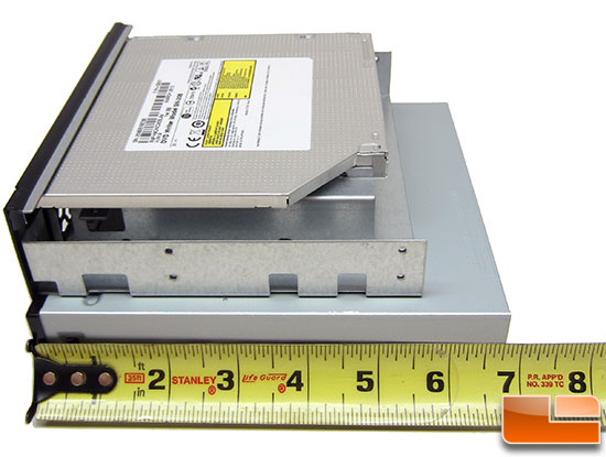 Shallow Depth DVD Drive Solution