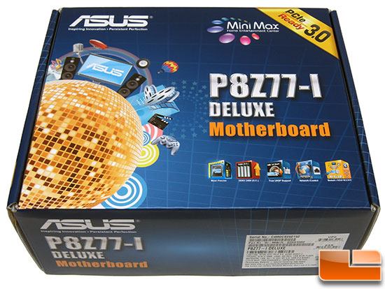 ASUS P8Z77-I DeluxeMotherboard