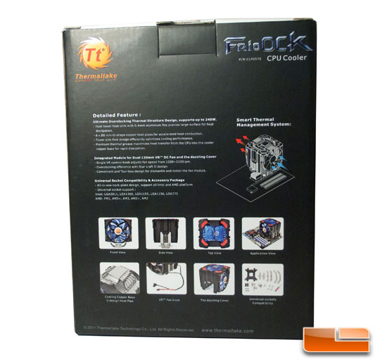 Thermaltake Frio OCK Box Back