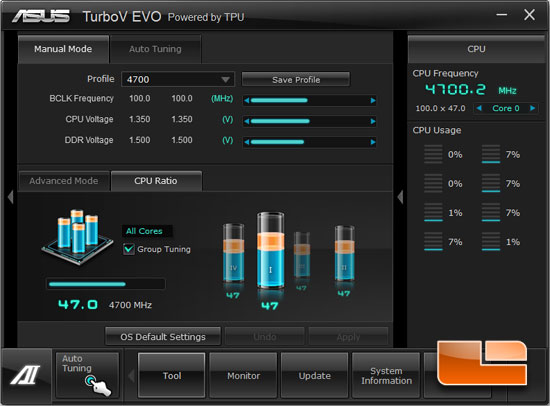 Intel Core i7 3770k 'Ivy Bridge' Overclocking Settings