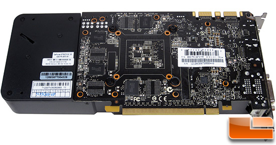 NVIDIA GeForce GTX 670 Video Card Back