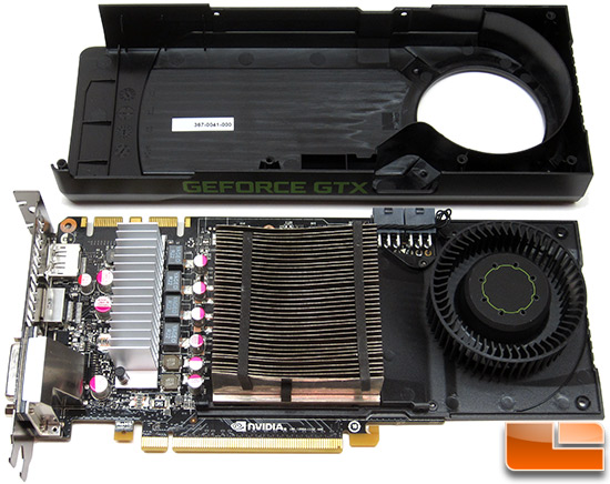NVIDIA GeForce GTX 670 with Cover Removed