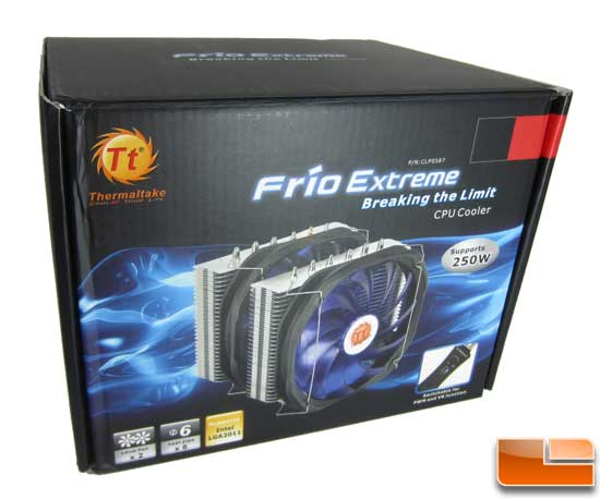 Thermaltake Frio Extreme Front of the box