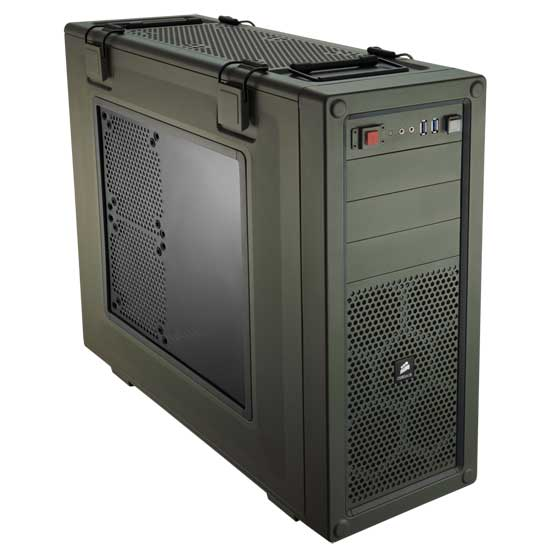 Corsair Vengeance C70 Military Green Case Review