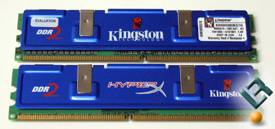 Kingston DDR2 PC2-6000 (750MHz) Memory