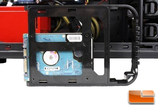 Thermaltake Overseer RX-1 HDD Install