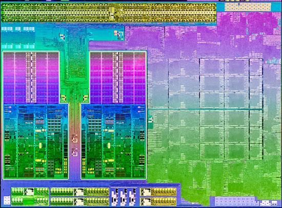 AMD Trinity Piledriver Die Shot