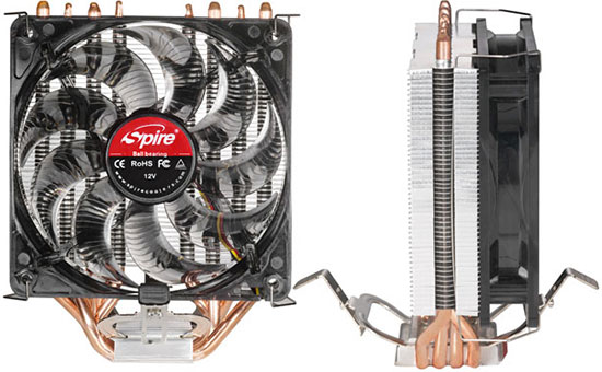 Spire CoolGate 2011 CPU Cooler Review