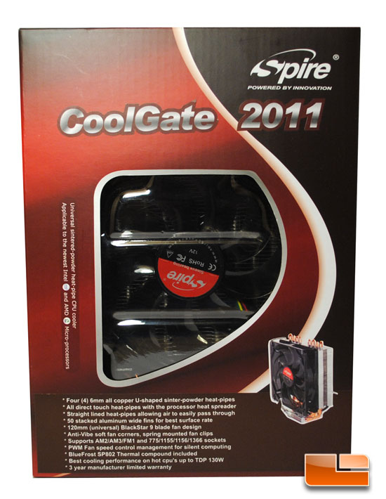 Spire Coolgate 2011 Retail Box