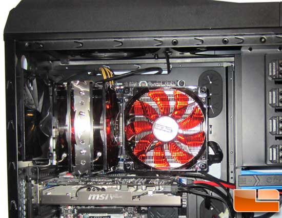 Prolimatech Genesis CPU Cooler in case