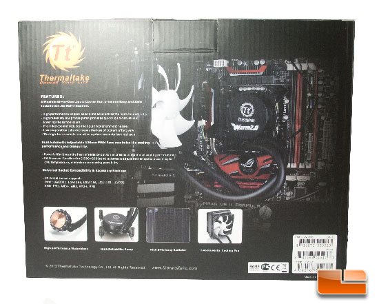 Thermaltake Water 2.0 Performer Box Back