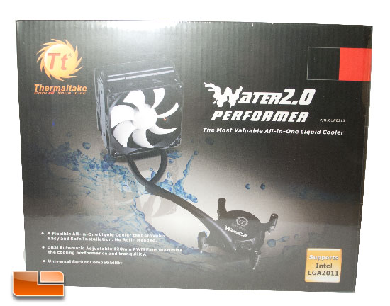 Thermaltake Water 2.0 Performer Box Front