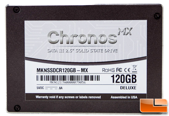 Mushkin Chronos MX 120GB SSD Review