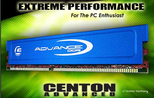 Centon Advance PC2-5400 DDR2 Memory