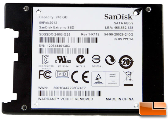 SanDisk Extreme 240GB Open