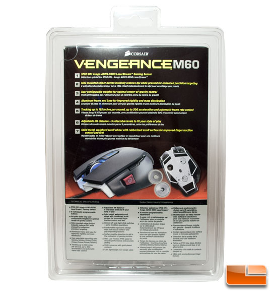 Vengeance K60 Box back