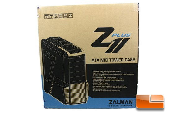 Zalman Z11 Plus Box Front