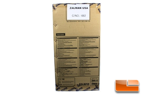 Zalman Z11 Plus Box Side