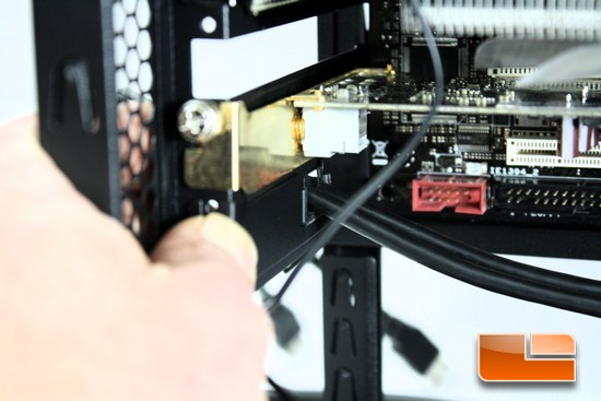 Zalman Z11 Plus USB 3 PCI Cover Install