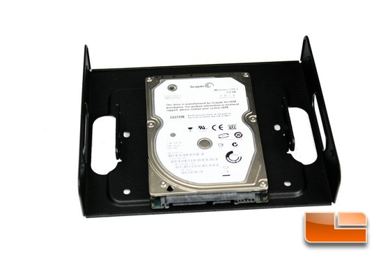 Seagate Momentus HDD Install