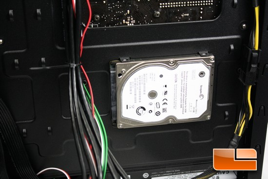 Zalman Z11 Plus SSD Mounting