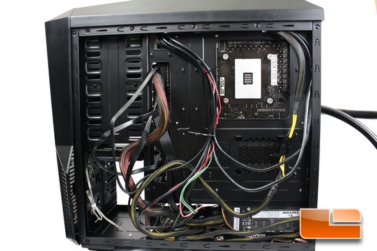 Zalman Z11 Plus Wire Management
