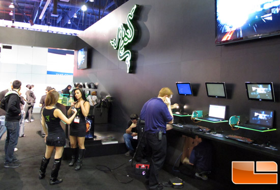 E3 2012 Razer Booth