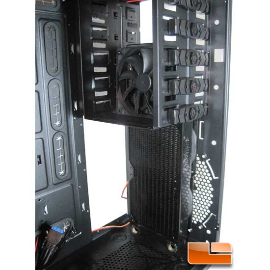 BitFenix Shinobi XL water coolign front 360