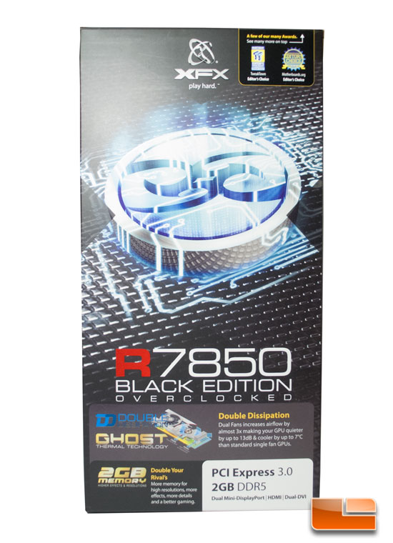 XFX Radeon 7850 Black Edition Box