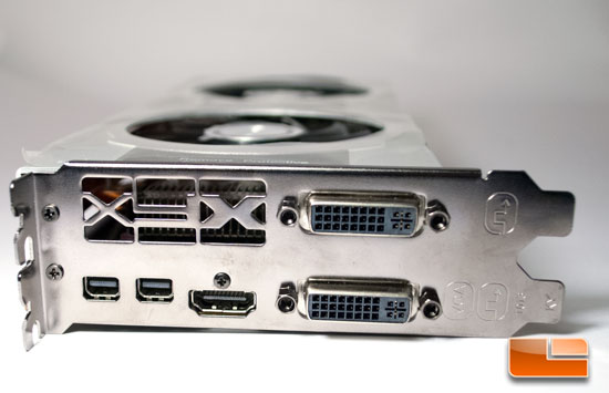 XFX Radeon 7850 Video Connectors