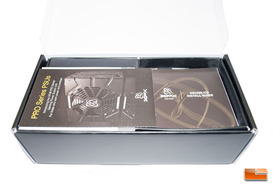 XFX Radeon 7850 Black Edition Paperwork