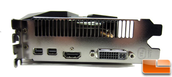 Sapphire Radeon HD 7970 Video Card DVI Connectors