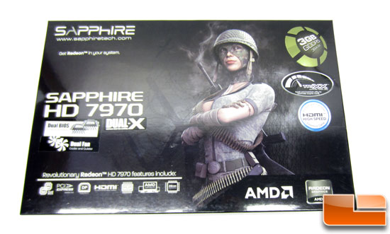 Sapphire Radeon HD 7970 OC Retail Box
