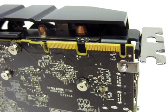 Sapphire HD 7950 3GB Overclock Edition CrossFire Connector