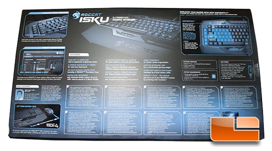 Roccat Isku Box Back