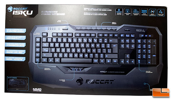 Roccat Isku Illuminated Gaming Keyboard Review