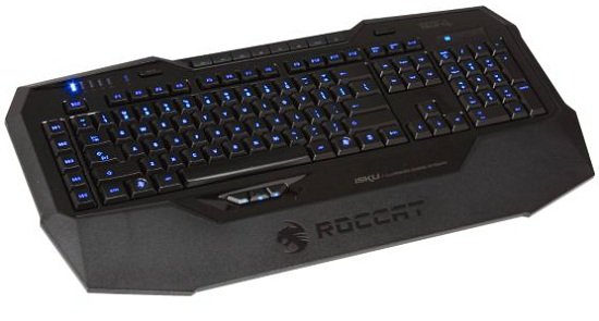 Roccat Isku Keyboard illuminated
